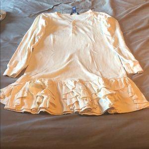 Ralph Lauren dress and matching sweater.